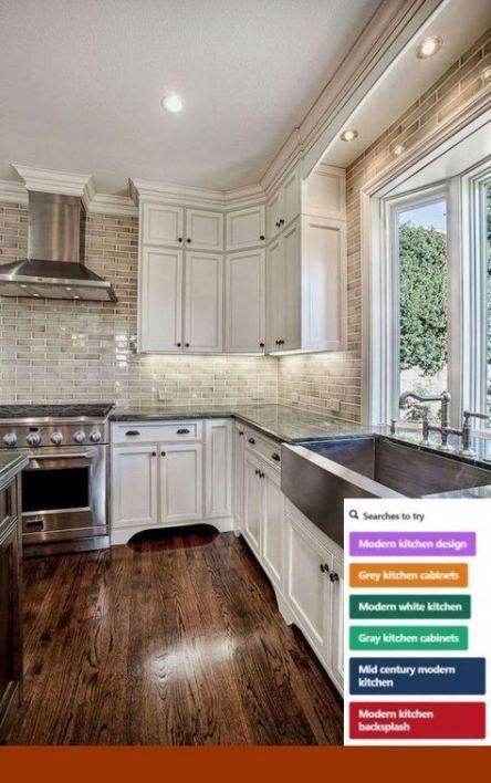 42 Ideas Kitchen Countertops Tile Layout Kitchen Remodel Farmhouse Kitchen Cabinets Kitchen Cabinets