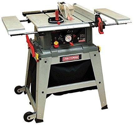 Craftsman 10 Table Saw With Laser Trac 21807 Power Table Saws Amazon Com Craftsman Table Saw Best Table Saw Table Saw