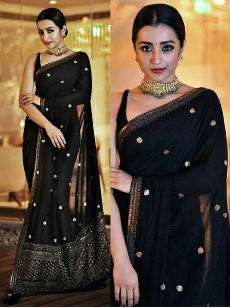 Sarees for woman Indian Wedding wear designer bollywood saree blouse Sari dress Dress Indian Style, Indian Dresses, Indian Outfits, Bollywood Sari, Bollywood Fashion, Bollywood Style, Fancy Sarees, Party Wear Sarees, Sari Dress