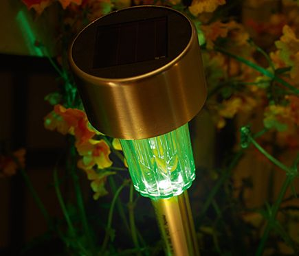 Baliza Solar Inspire Tobago Rgb Leroy Merlin