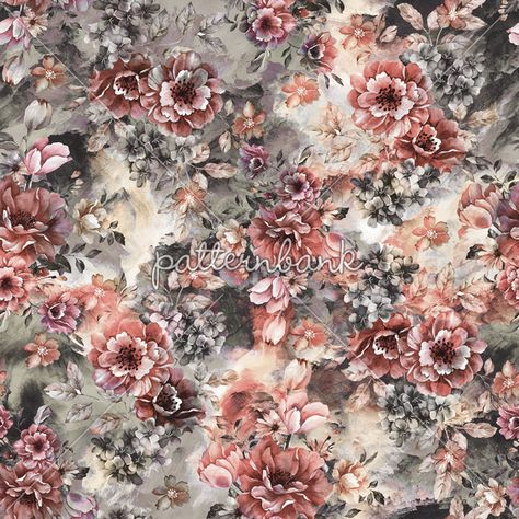 Valley of Flowers by VS Fashion Studio Seamless Repeat Royalty-Free Stock Pattern