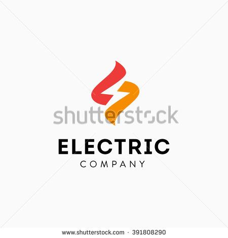 A Logo For Buzz Electric With Bee And Lightning Bolt