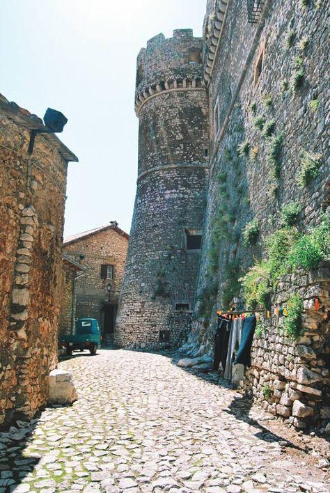 Castello Caetani, Sermoneta - Lazio, Latina