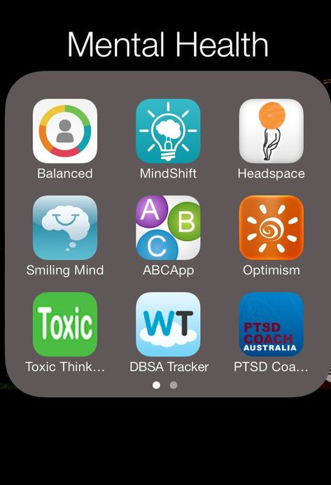 Mental health apps- Free(!) on iTunes