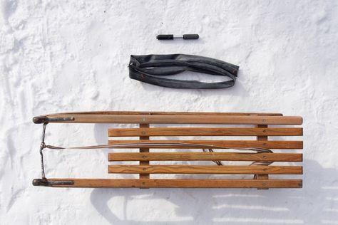 Davoser, Mountainbike-Schlauch und Fahrradpumpe: Voilà, der «Davoser comfort»