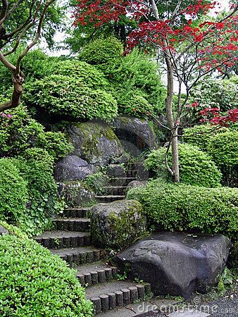 Exceptional Japanese Garden With Interesting Steps | Plants | Pinterest | Japanese,  Gardens And Landscaping
