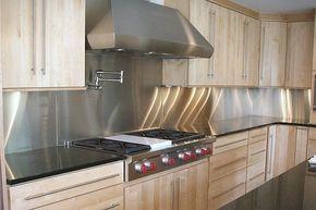 Transform Your Kitchen With A Stainless Steel Backsplash Kitchen