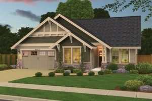 Traditional Style House Plan 3 Beds 2 5 Baths 1590 Sq Ft Plan 943 31 In 2020 Ranch Style House Plans Craftsman House Plans Craftsman Style House Plans