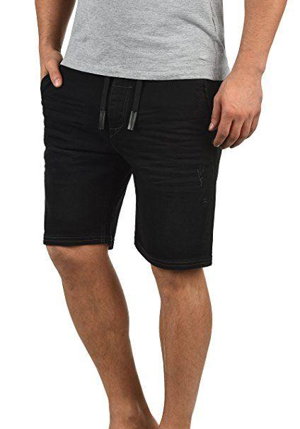 eb1fc1dab23bf Blend Bartels Herren Jeans Shorts Jogger-Denim Kurze Hose Mit Elastischem  Bund Und Destroyed-. Besuchen. April 2019