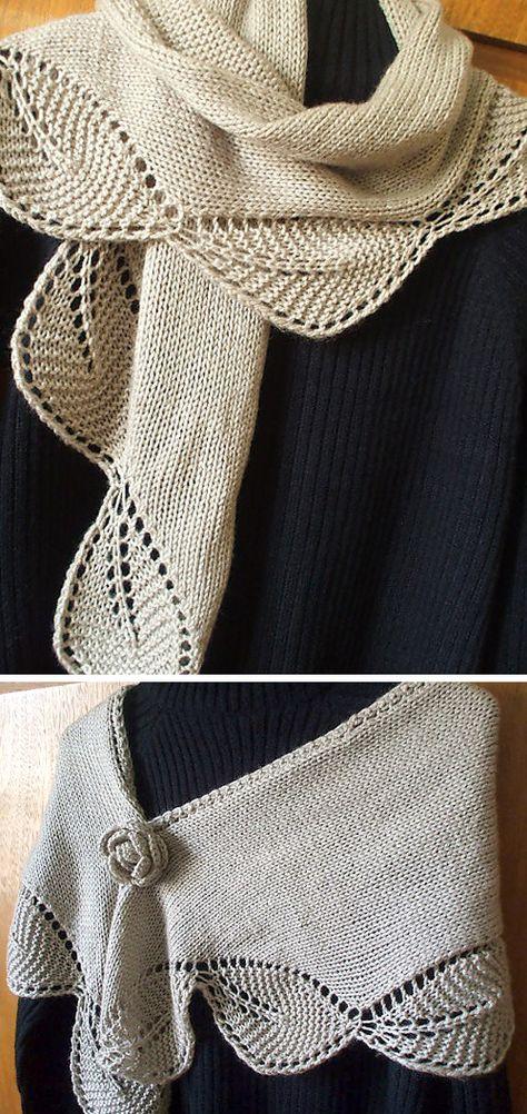 Lace Knitting, Knitting Stitches, Knitting Patterns Free, Free Pattern, Knitting Machine, Knitted Shawls, Crochet Shawl, Knit Crochet, Crochet Flower Patterns