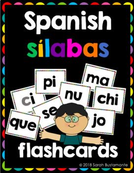 Spanish Flashcards For Silabas B C Ch D F G H J K L Ll M N N P R S T U V W X Y Z Que Qui Flashcards