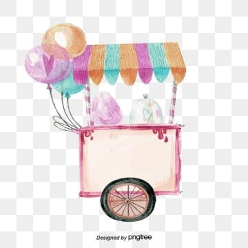 Pink Cotton Candy Cart Pink Cotton Candy Blue Cotton Candy Candy Paint