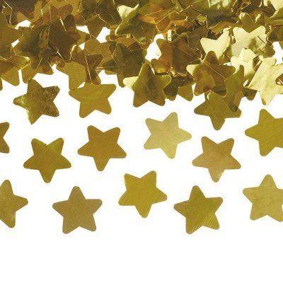Confetti Kanon Sterren Goud Feestelijk Het Nieuwe Jaar In Met Deze Sprankelende Decoratie Speciaal Voor Oud Nie Bruiloft Confetti Confetti Huwelijksceremonie