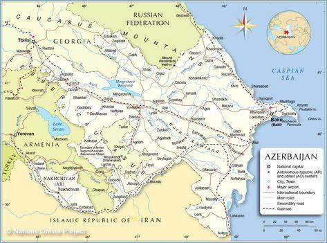 Azerbaijan Azerbaijan Transcontinental Countries Pinterest
