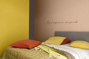 couleurs-peinture-chambre-jaune-safran-ocre-rouge-taupe ...