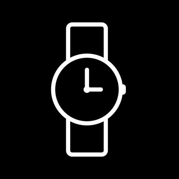 Vector Watch Icon Clock Time Watch Png And Vector With