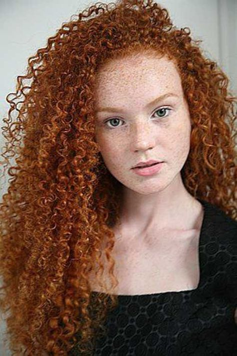Curly Long Red Hair :aava ducayne aka ava magdalene pretty hair and color