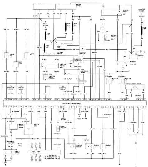 1989 Dodge Pickup Wiring Diagram