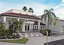 The Visual Arts Center is a showcase of local talent and is located in Punta Gorda, Florida