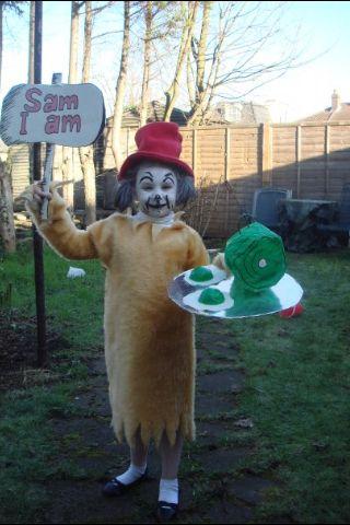 Sam I Am book week costume
