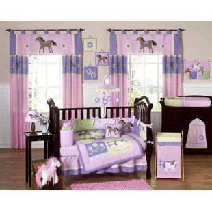 Viv Rae Yasmeen 10 Piece Crib Bedding Set Wayfair Crib Bedding Girl Baby Girl Crib Bedding Sets Baby Bedding Sets