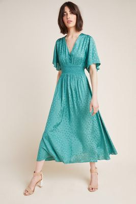 c14681ab9efff Cyrena Maxi Dress in 2019 | Anthro land | Dresses, Jacquard dress ...