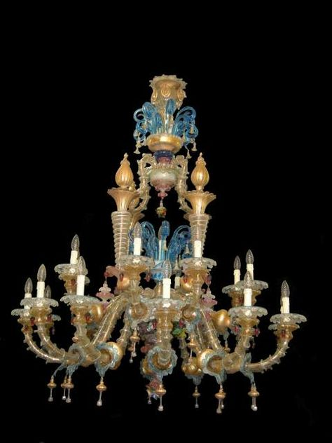 Lampadari Antichi Di Murano.Lampadario In Vetro Antico Di Murano Rezzonico Chandeliers