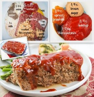 Best Best Meatloaf Replace The Crackers With Oatmeal And The Garlic Powder With Fresh Garlic And I Best Meatloaf Good Meatloaf Recipe Meat Loaf Recipe Easy