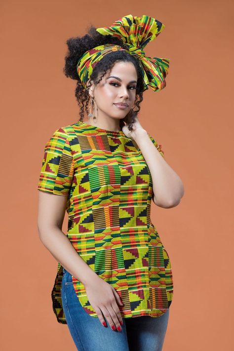 11226bd91 Whether you're looking for a stylish way to keep your hair off your face ,  this colourful Osumare African Print Headwrap is the Solution