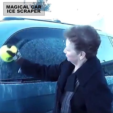 Looks super awesome right? This Magical Car Ice Scraper is a ingeniously designed ice scraper and snow remover that's cone shaped, so you can simply move it in any direction or in circles to remove more snow from your car at a time.