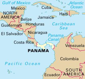 Adventure Panama South America And Central America - Is panama us territory map