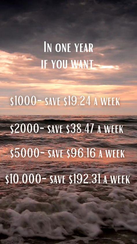 Weekly savings plan challenge | weekly savings hack and tips | money weekly saving goals