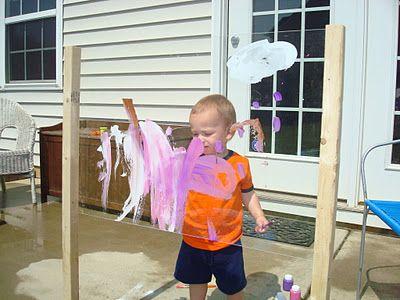 outdoor art easel