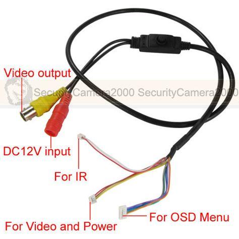 security camera cable wire diagram ir camera wiring diagram wiring diagram data  ir camera wiring diagram wiring
