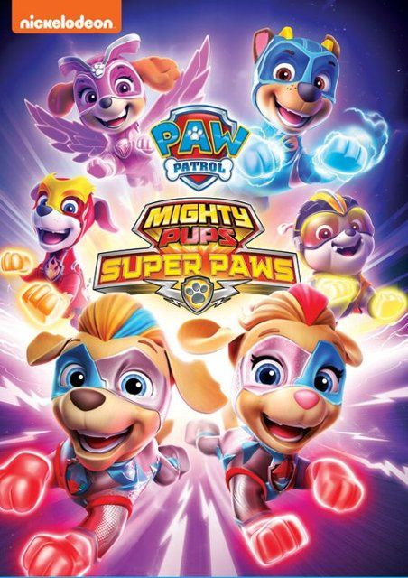 Paw Patrol Mighty Pups Super Paws Juvenile Dvd 3 3 20 Paw Patrol Pups Paw Patrol Dvd Paw Patrol