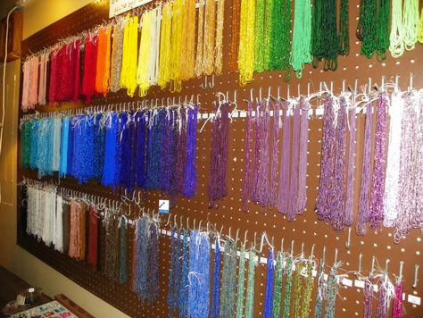 """For the bead-lover and jewelry-maker in your life, a wide selection of beads, trinkets and fixtures to make their own creations. 585 W. King St., Suite A (as in """"At street level""""!), near the King Street Creamery and Wolfie's Deli 