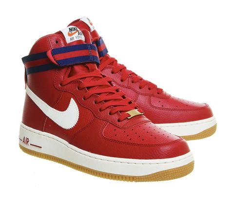 Nike Sportswear Air Force 1 High 07 Gym Red Deep Royal