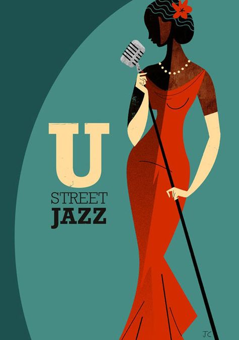 Ideas Music Poster Retro Art Deco For 2019