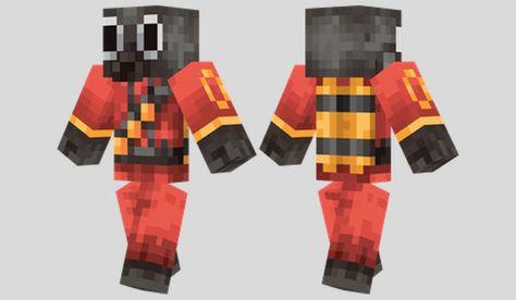 TF2 Pyro Skin para Minecraft