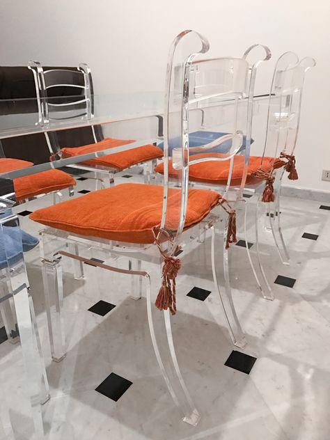 Sedie Plexiglass Colorate.Sedie In Plexiglas 05 Sedia In Plexiglass Mod Ricciolo