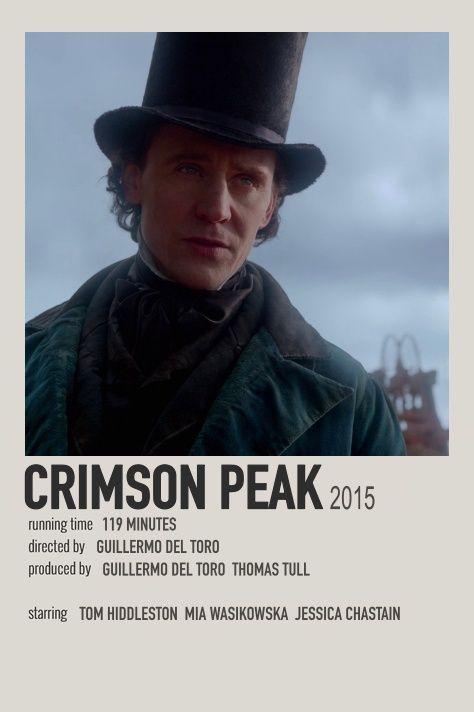 crimson peak polaroid movie poster
