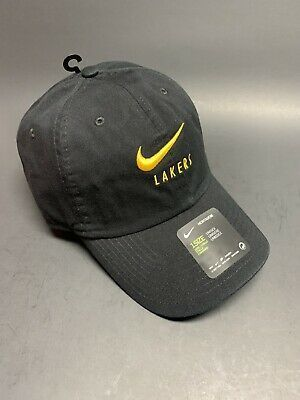Nike Nba Heritage 86 La Lakers Ci4782 010 Los Angeles Cap In 2020 Nike Cap La Lakers Baseball Hats