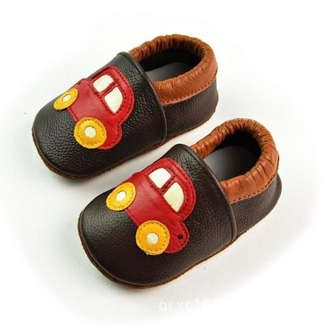 e3add3b9e3e Click to Buy    Car Pattern Genuine Leather Baby Moccasins Slip On Soft  Sole Baby Boy Shoes Infant Girl First Walkers Coffee Red  Affiliate.