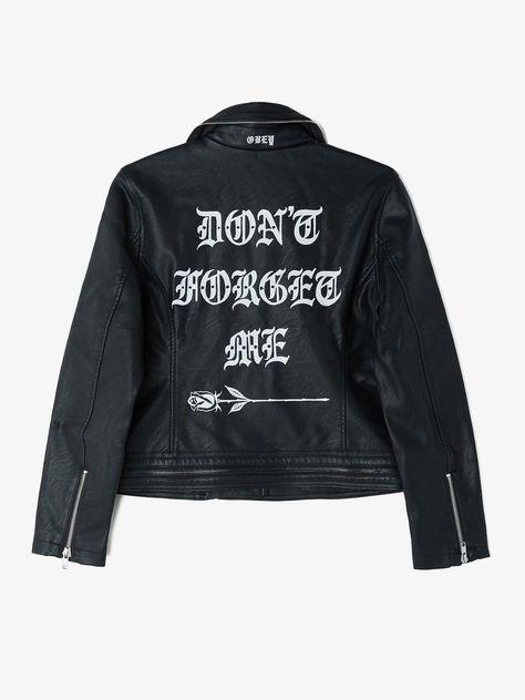 Don't Forget Me Vegan Leather - from OBEY X Tamara Santibañez