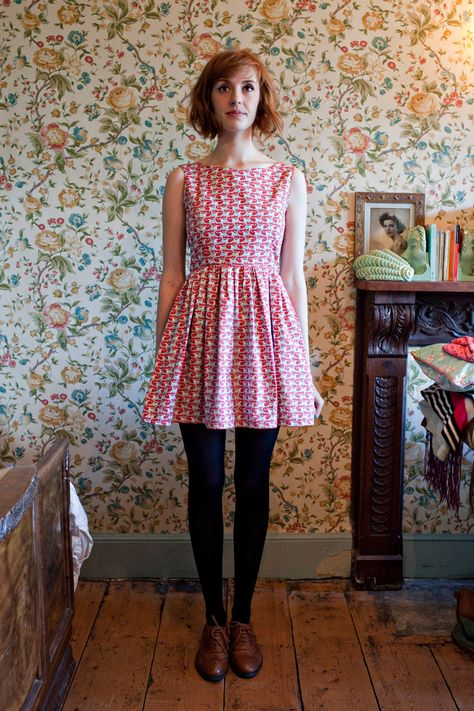 'Foxglove' Party Dress