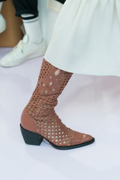 Chloé at Paris Fashion Week Spring 2018 - The Most Daring Runway Shoes at Paris Fashion Week - Photos