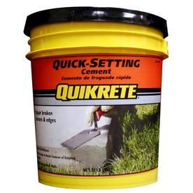 Quikrete 20 Lbs Quick Setting Cement At Lowes Com With Images