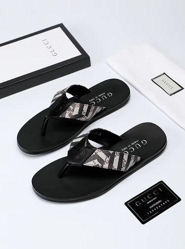 Gucci New Flip Flop 38 45 52 14019452 Whatsapp 86 17097508495 Mens Black Leather Sandals Top Shoes For Men Mens Fashion Shoes