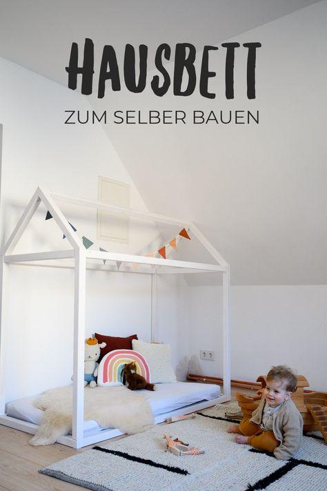 Hausbett Selbst Bauen Kinderzimmer Hausbett Bodenbetten Und