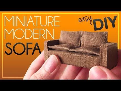 1//12 Dollhouse Miniature Meubles Double Canapé Chaise Couple Canapé Banc